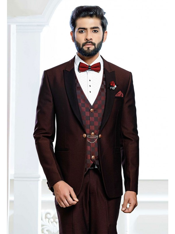 Indian Designer Wedding Suit.