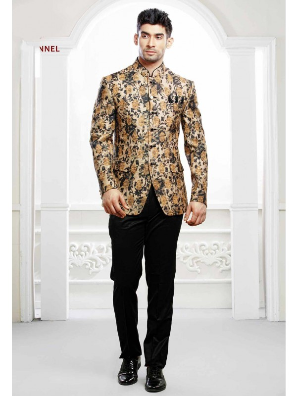 Multi Colour Jodhpuri Suit.