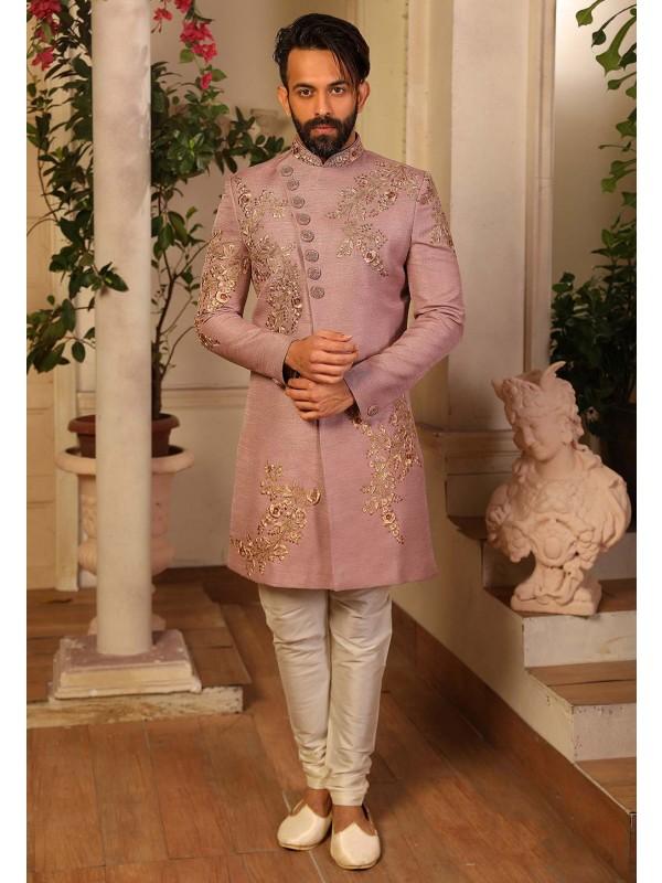 Banarasi Silk Party Wear Indowestern.