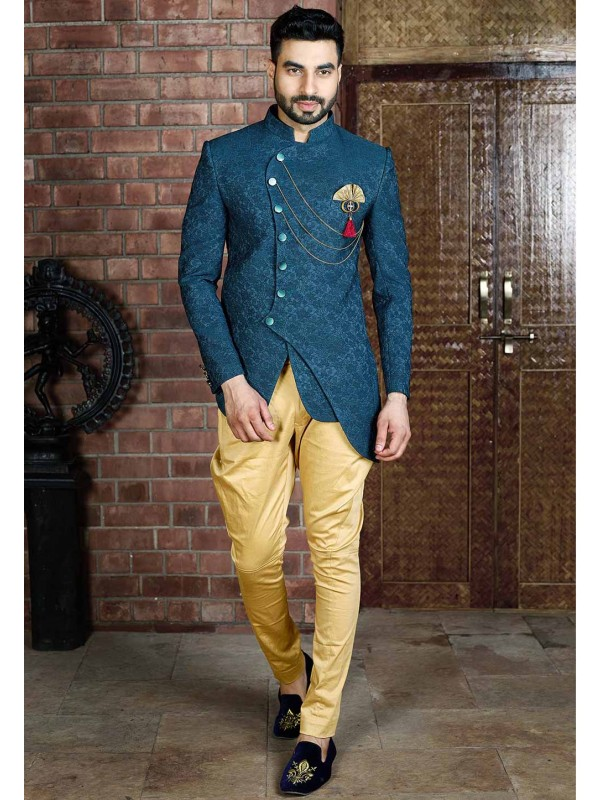 Green Colour Indian Designer Suit.