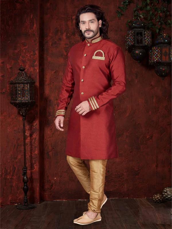 Indian Designer Indowestern Margoon Colour.
