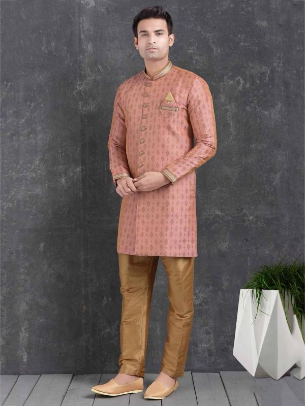 Pink Colour Indian Designer Indowestern.