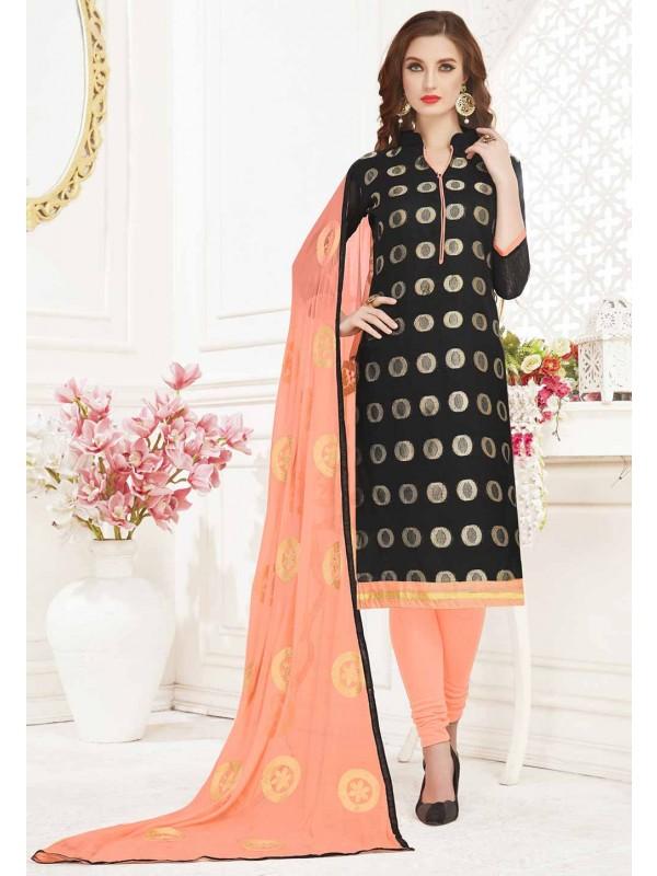 Black Colour Salwar Suit.