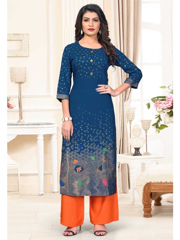 Designer Kurti Cotton Fabric.