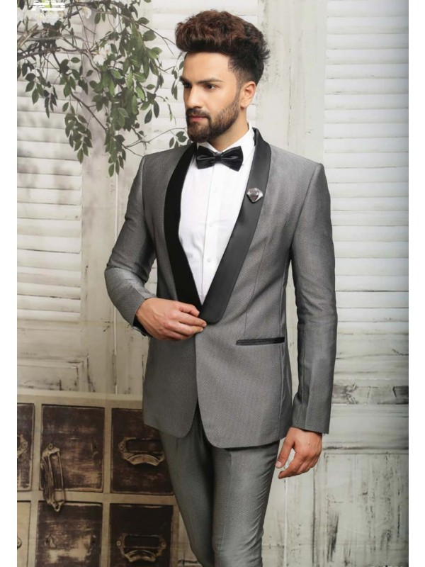 GREY COLOR ITALIAN FABRIC SUIT