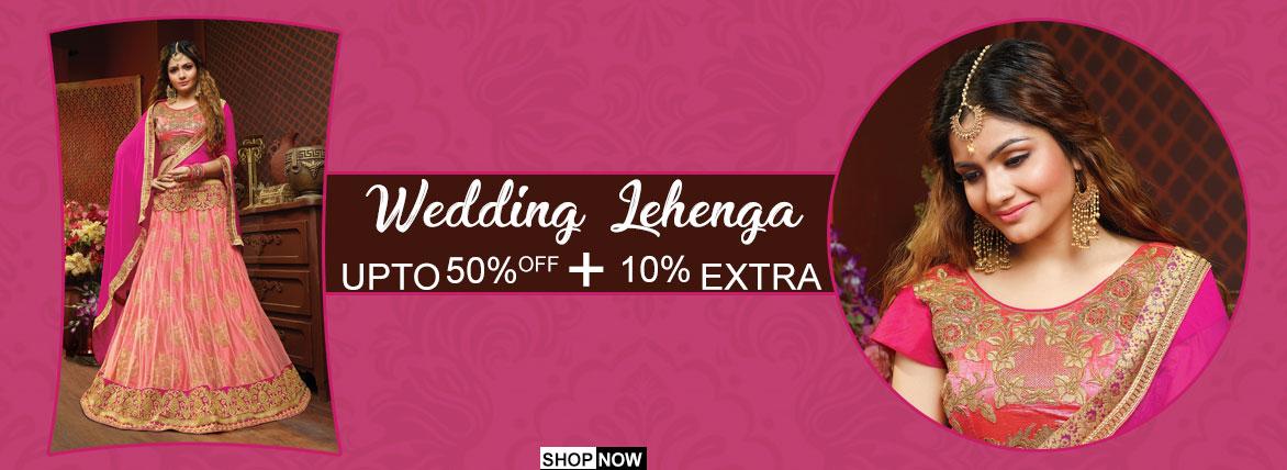 Indian Wedding Lehanga Online USA