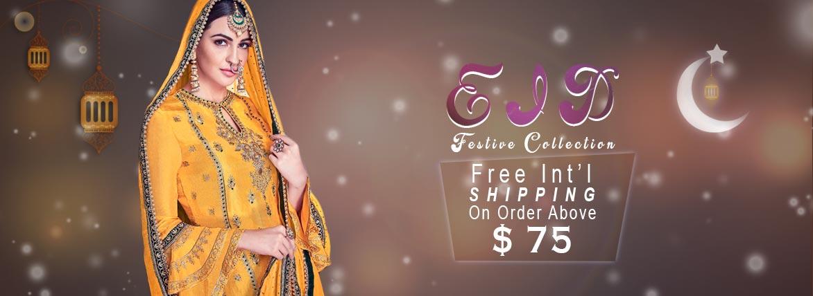 Indian eid Lehanga,Pakistani dresses online USA