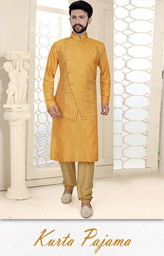 Kurta Pyjama-Indian dresses for men online