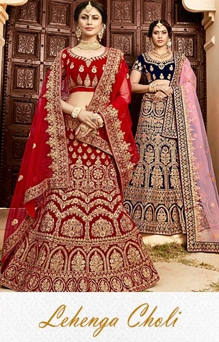 Lehanga;'s-Indian wedding Lehangas online