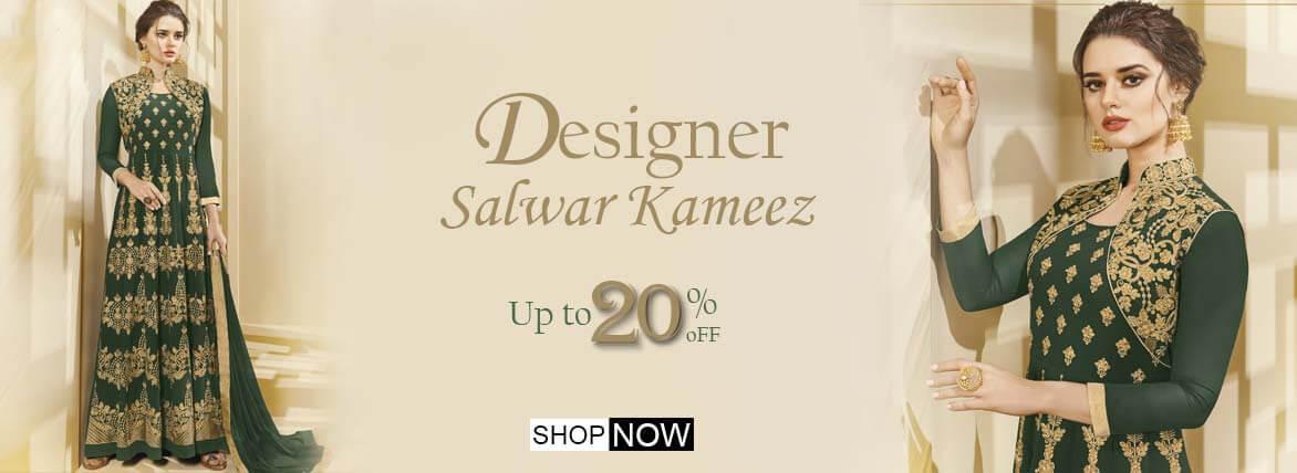 Indian wedding dresses - Designer Salwar kameez
